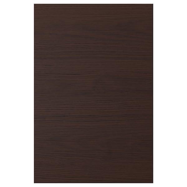 ASKERSUND Ovi, tummanruskea saarnikuvioitu kalvopinnoite, 40x60 cm