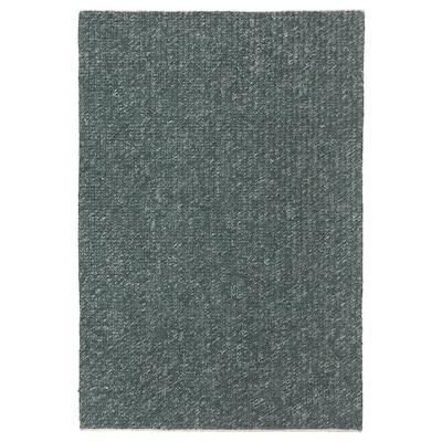 AVSKILDRA Matto, kudottu, käsin tehty tummanvihreä, 170x240 cm