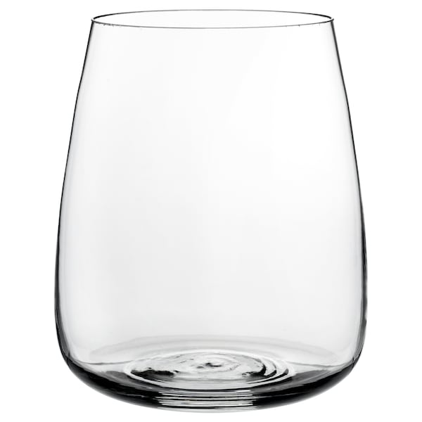 BERÄKNA Maljakko, kirkas lasi, 18 cm