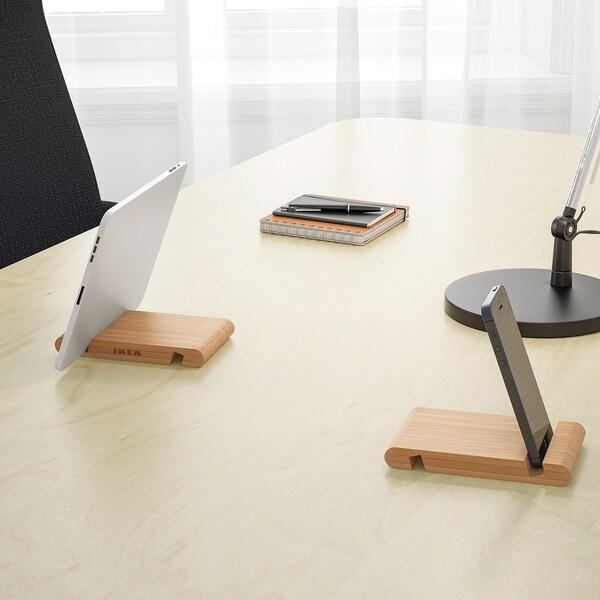 BERGENES Kännykän/tabletin pidike, bambu