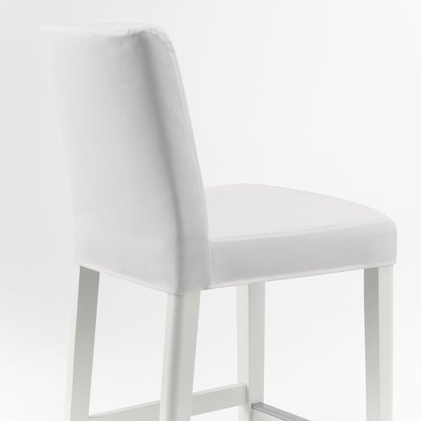 BERGMUND Baarituoli, valkoinen/Inseros valkoinen, 62 cm
