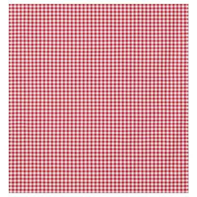 BERTA RUTA Kangas, keskikokoiset ruudut/punainen, 150 cm
