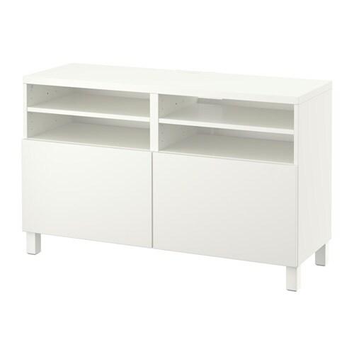 BESTÅ Tv taso ovet  Lappviken valkoinen  IKEA