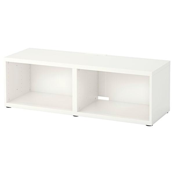 BESTÅ Tv-taso, valkoinen, 120x40x38 cm