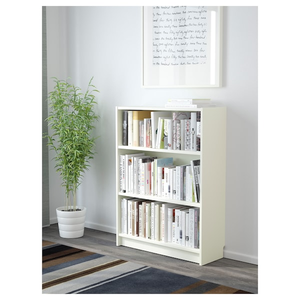 BILLY Kirjahylly, valkoinen, 80x28x106 cm