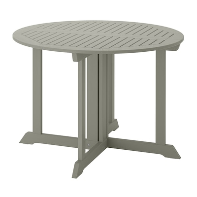 BONDHOLMEN pöytä, ulkokäyttöön harmaa 74 cm 108 cm