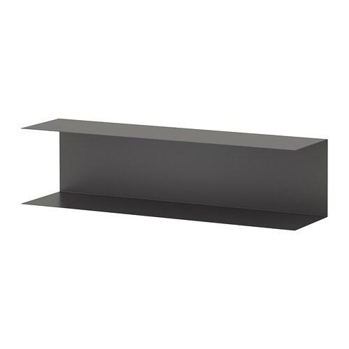 BOTKYRKA Seinähylly  harmaa  IKEA
