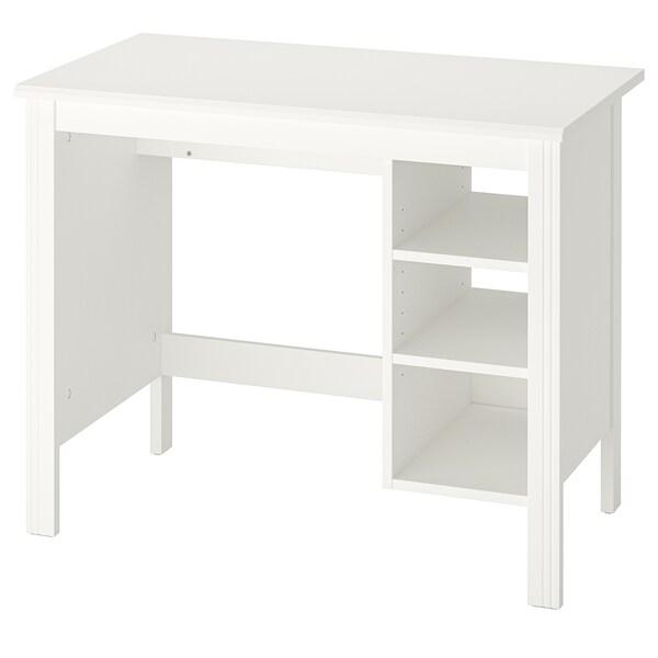 BRUSALI Työpöytä, valkoinen, 90x52 cm