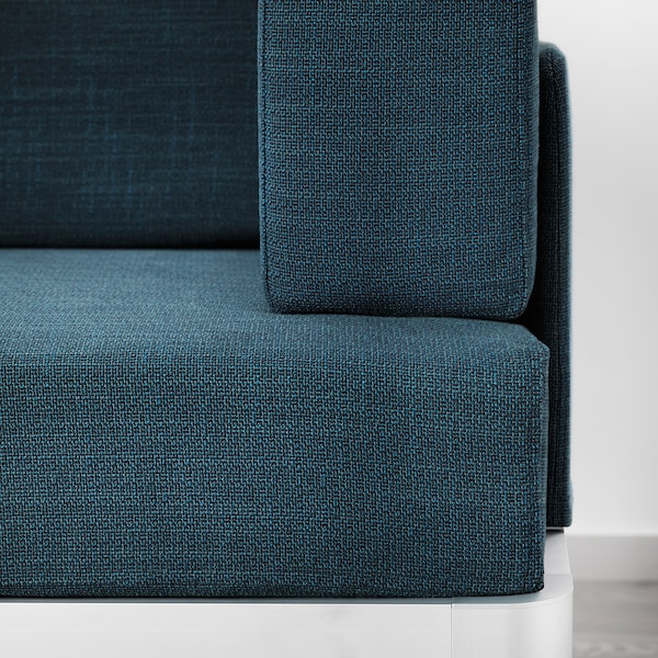 DELAKTIG 3:n istuttava sohva, Hillared tummansininen