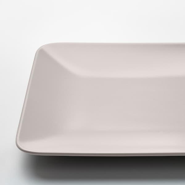 DINERA Lautanen, beige, 30x20 cm