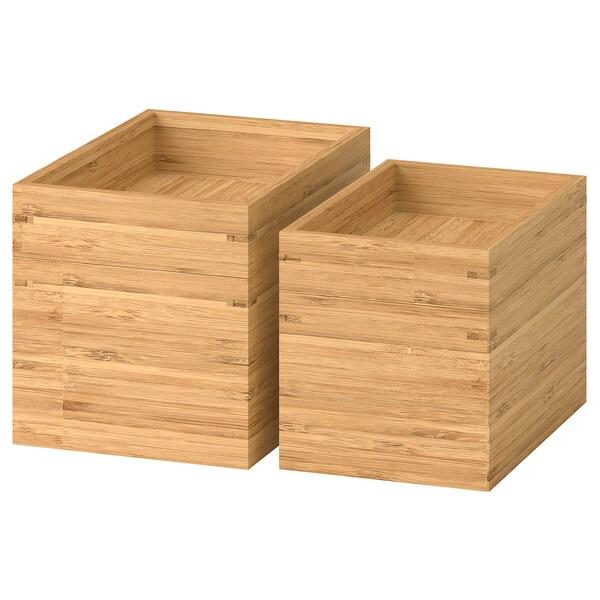 DRAGAN Kylpyhuonetarvikkeet 4 osaa, bambu