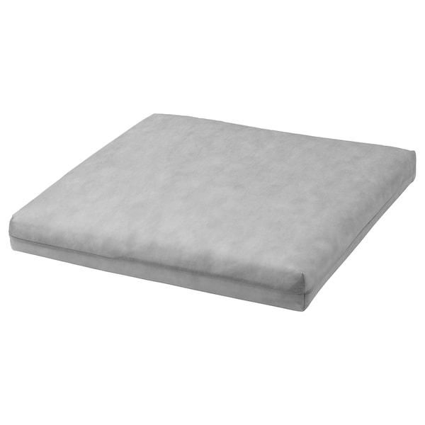 DUVHOLMEN Sisätyyny istuintyynyyn, ulkokäyttöön harmaa, 44x44 cm