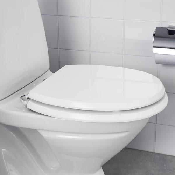 EKAREN wc-istuimen kansi valkoinen/korkeakiilto