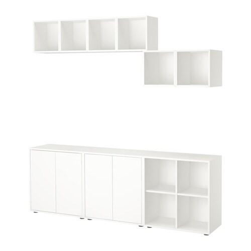 EKET Kaappi+jalat  valkoinen  IKEA