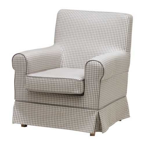 EKTORP JENNYLUND Lepotuoli IKEA Vaihdettavien irtopäällisten avulla kalusteen ilmettä on helppo uudistaa.
