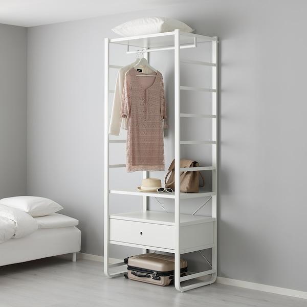 ELVARLI Päätytikas, valkoinen, 51x216 cm