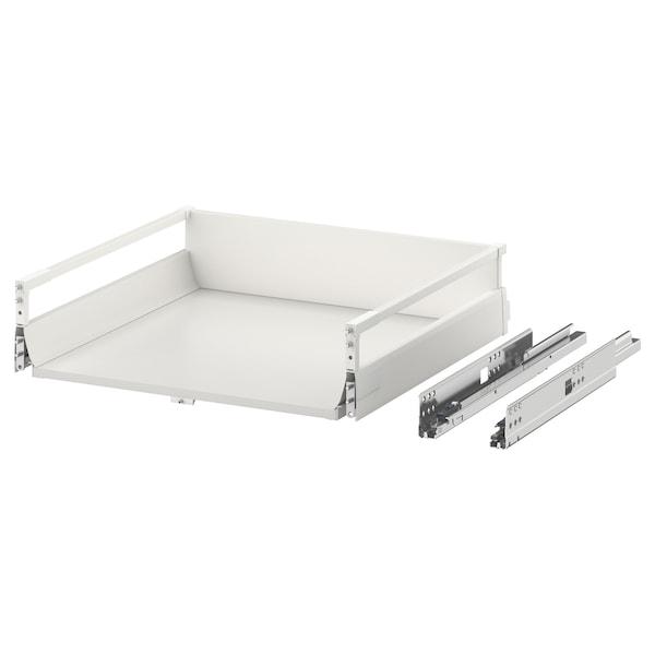 EXCEPTIONELL Laatikko, keskikorkea, painall av, valkoinen, 60x60 cm
