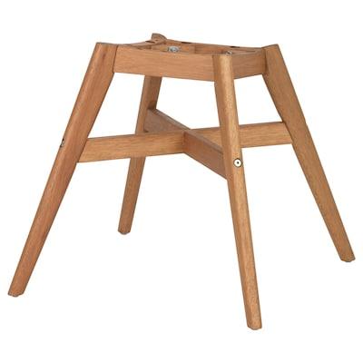 FANBYN Tuolin runko, ruskea puukuvio