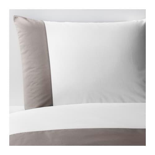 f rglav pussilakana 2 tyynyliinaa 240x220 50x60 cm ikea. Black Bedroom Furniture Sets. Home Design Ideas