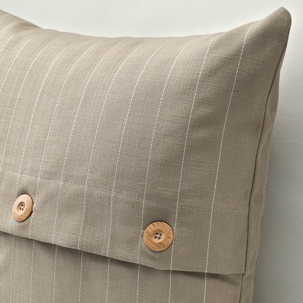 FESTHOLMEN tyynynpäällinen sisä-/ulkokäyttöön/beige 50 cm 50 cm
