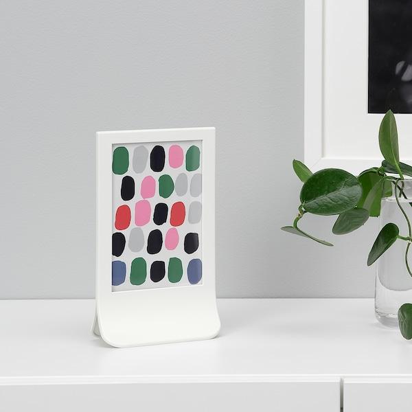 FIESTAD Kehys, valkoinen, 10x15 cm