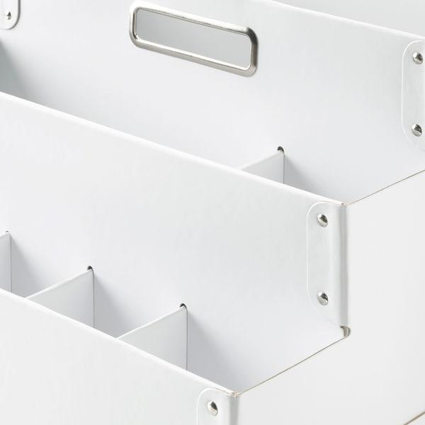 FJÄLLA Toimistotarviketeline, valkoinen, 35x21 cm