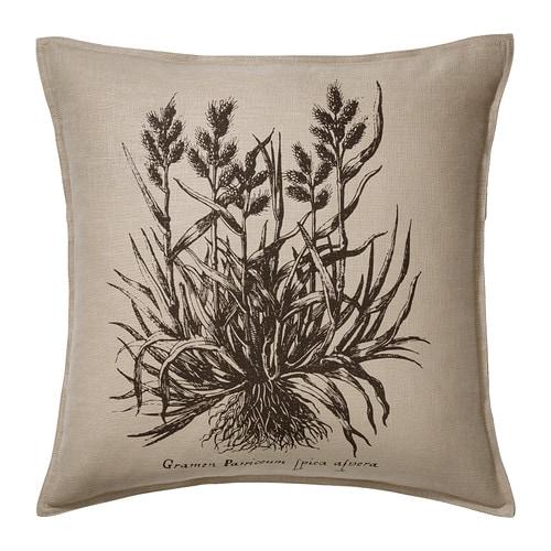 FJÄLLJUNG Tyynynpäällinen IKEA Päällinen ramia, kestävää luonnonmateriaalia, jonka pinnassa on kevyt tekstuuri.
