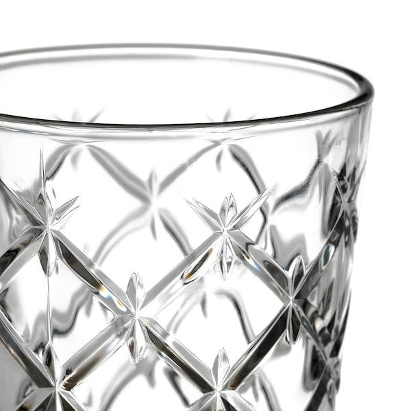 FLIMRA lasi kirkas lasi/kuvioitu 9.9 cm 28 cl