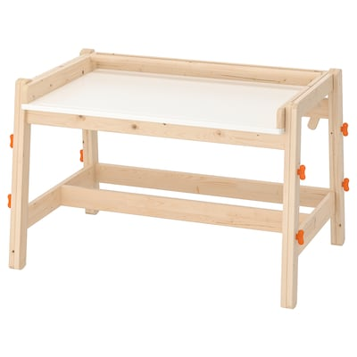 FLISAT lasten työpöytä säädettävä 92 cm 67 cm 53 cm 72 cm
