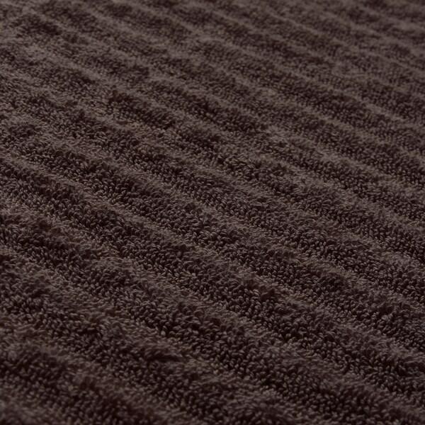 FLODALEN Kylpypyyhe iso, tummanruskea, 100x150 cm