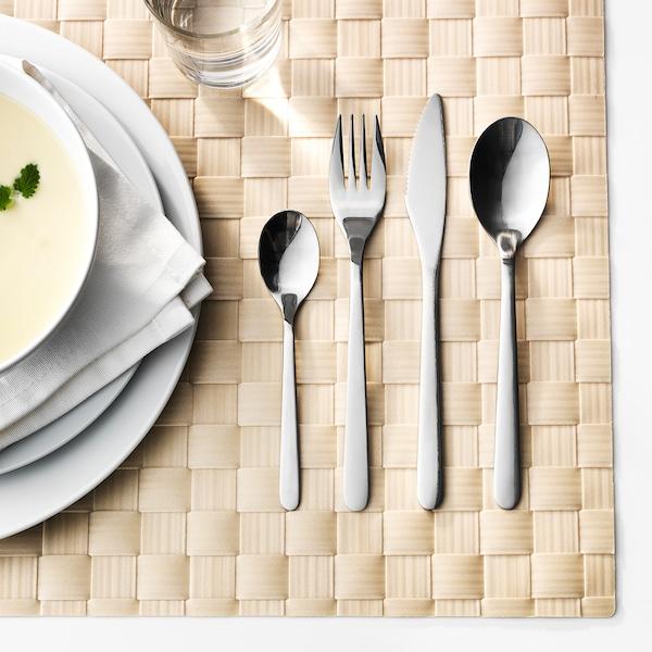 FÖRNUFT Aterimet 24 osaa, ruostumaton teräs