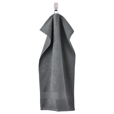 FREDRIKSJÖN Käsipyyhe, tummanharmaa, 40x70 cm