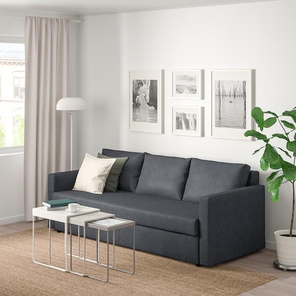 FRIHETEN 3:n istuttava vuodesohva Hyllie tummanharmaa IKEA