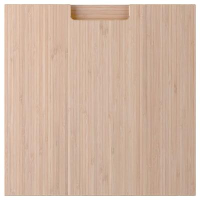 FRÖJERED Laatikon etusarja, vaalea bambu, 40x40 cm