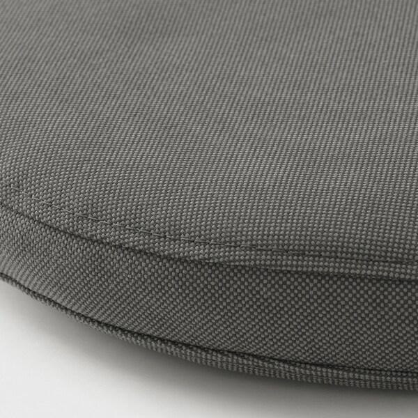 FRÖSÖN/DUVHOLMEN istuintyyny, ulkokäyttöön tummanharmaa 35 cm 4 cm