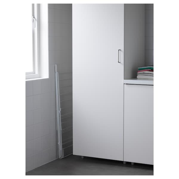 FROST kuivausteline, sisä-/ulkokäyttöön valkoinen 134 cm 59 cm 93 cm