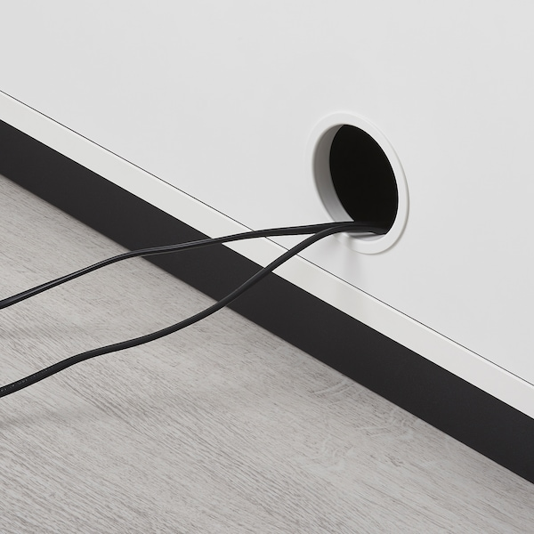 GALANT Liukuovikaappi, valkoinen, 160x80 cm
