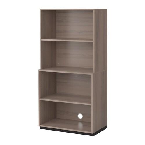 GALANT Säilytyskokonaisuus, avoin  harmaa  IKEA
