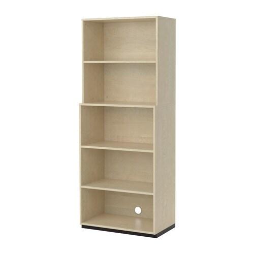 GALANT Säilytyskokonaisuus, avoin  koivuviilu  IKEA