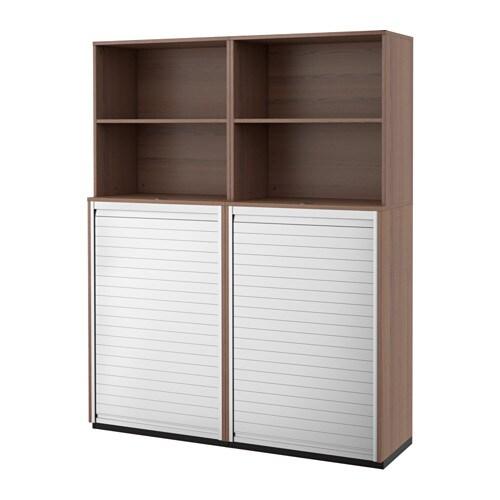 GALANT Säilytyskokonaisuus+rulo ovet  harmaa  IKE