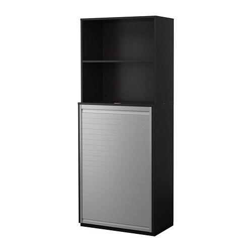 GALANT Säilytyskokonaisuus+rulo ovet  mustanruskea  IKE