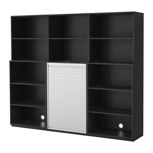 GALANT Säilytyskokonaisuus  mustanruskea  IKEA