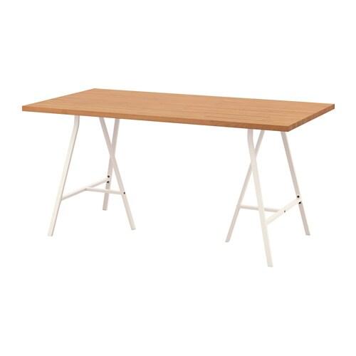 GERTON  LERBERG Pöytä  pyökki valkoinen  IKEA