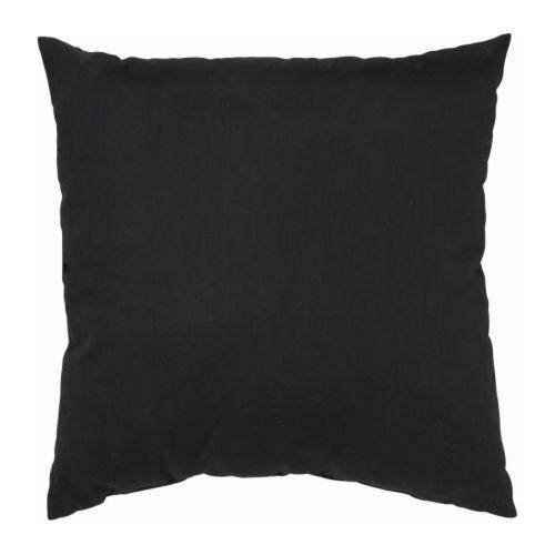 GRANAT Tyyny, musta Pituus: 50 cm Leveys: 50 cm Täytteen paino: 280 g Kokonaispaino: 380 g