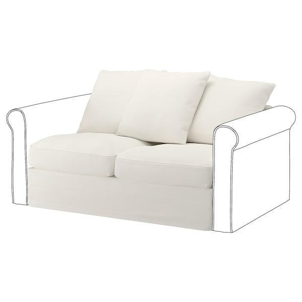 GRÖNLID 2:n istuttava sohva, Inseros valkoinen