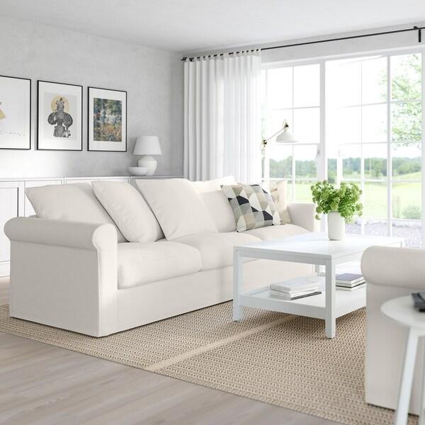 GRÖNLID 3:n istuttava sohva, Inseros valkoinen