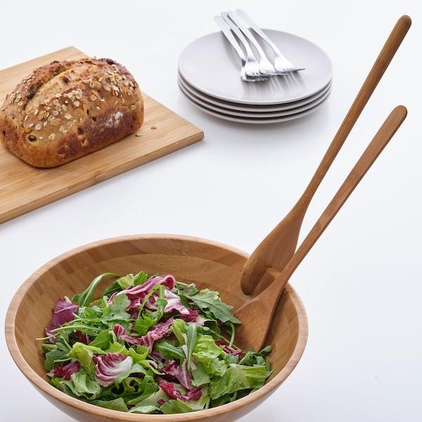 GRÖNSAKER Salaatinottimet, 2 osaa, bambu