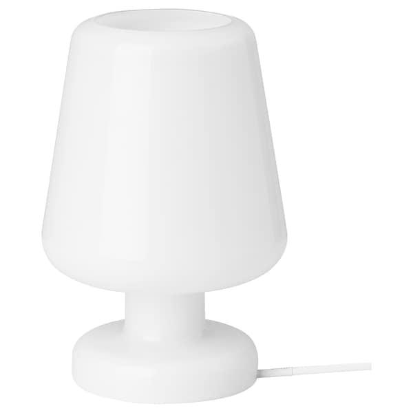 GULDALG Pöytävalaisin, lasi valkoinen, 25 cm