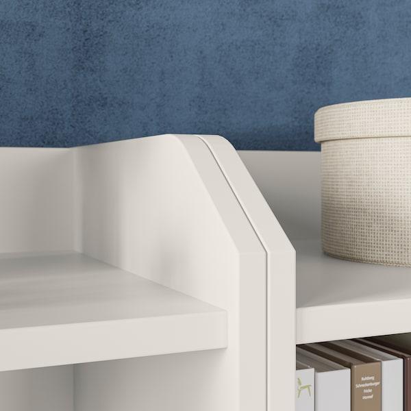 HAUGA Säilytyskokonaisuus, valkoinen, 244x46x116 cm