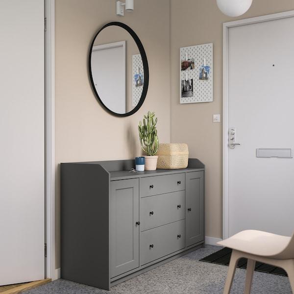 HAUGA Senkki, harmaa, 140x84 cm